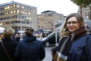 Elisabeth Nilesol arrangerade en manifestation för metoo-rörelsen för ett år sedan.