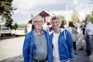 Göran Norlin (L) och Ulla-Britt Sundin (KD.