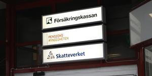 Försäkringskassan på Nygatan i Södertälje. Foto: Mats Andersson