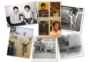 Privata bilder från Jan Boholms barndom.