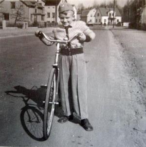 Stolt Hans Nordgren anno 1947.