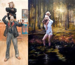 Brita och jag, Carl Larsson och Skogsljus 2, Karin Broos