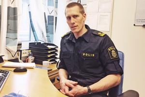 Peter Danielsson, gruppchef för Salapolisens utredningsgrupp.