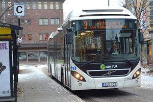 Kollektivtrafiken i Örnsköldsvik kostar för mycket. När nästa turlista börjar gälla, i december 2020, ska besparingar på 10 miljoner vara genomförda. Bild: Arkiv