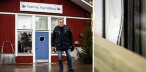 Natten till fredagen tog tjuvar sig in hos Norrtälje Segelsällskap genom att bryta upp ett fönster.