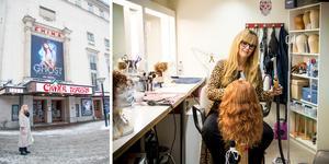 I 25 år har Catharina Lundin arbetat som frilansande maskör och perukmakare inom teater- och musikal. Hon har jobbat på flera privatteatrar, främst på Chinateatern i Stockholm.