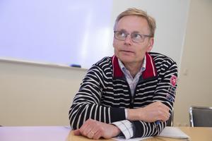 Enligt de uppgifter vi fått från Spendrups skulle båda nybyggena bli 12,6 meter höga, säger Torkel Berg och tillägger att preliminärt så kan nya detaljplanen bli antagen i februari 2020.