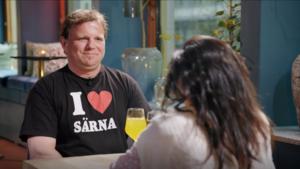 Stig Spånberg var nervös inför dejten men tyckte ändå att det gick bra. Bild: TV3