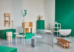 Möbeln Seats är designad av Josefin Zachrisson och Mira Bergh Edenborg. Foto: Pressbild/Hinke Tovle.
