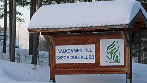 Läget är iskallt för Svegs Golfklubb som kommer att avvecklas.