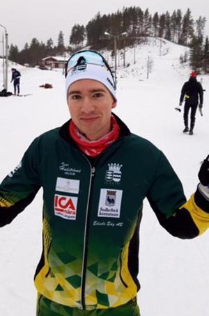 Johan Bergman, trea i Sverigecupen i Idre. Foto: Privat