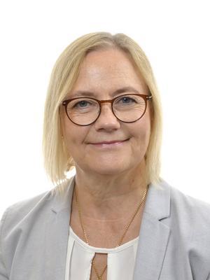Anna Vikström (S) ställde frågan till socialministern Lena Hallengren (S). Foto: SLL