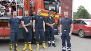 Efter Länsstyrelsen förfrågan skickar räddningstjänsten i Hallands län två grupper till Dalarna