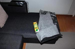 Polisen hittade DNA på en juiceförpackning i ett hus i Avesta som utsattes för inbrott. DNA:t visade sig komma från en man som nu är dömd för grov stöld.Bild: Bild från polisens förundersökningsprotokoll