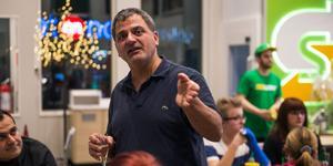 Rasoul Zarar har velat etablera sig i Birsta sedan 2009.