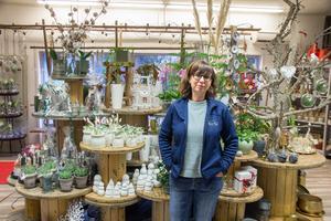 Marita Lennartsson kommer under våren att flytta butiken till nya lokaler vid Åsgårdsplan i Skogsbo. – Vi har som mål att vara inflyttade och klara till påsk, säger hon.