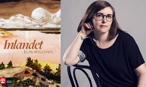 """Elin Willows har skrivit """"Inlandet"""" som går som sommarföljetong i e-tidningen och papperstidningen. Foto: Frank A. Unger"""