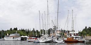 Ön Fejan återkommer i år som brygga för Nordsyd-linjen.