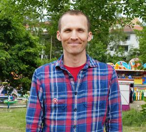 Foto: Privat   Samuel Skånberg, Haninge, kandidat för Vänsterpartiet i EU-parlamentsvalet.