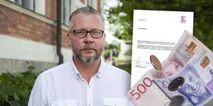 Enligt ordförande Lars Stål (M) är det inte uteslutet att den före detta vd:ns uppsägningsavtal kan komma att brytas. (Bilden är ett montage.)