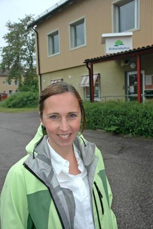 Satsning. Älvkarlebyhus satsar 78 miljoner i fyra olika projekt, däribland nybyggnation av 20 lägenheter i Skutskär och en upprusning av bostadsområdet Hårsta. Therese Berg har anställts som projektledare.Foto: Katarina Lönnberg