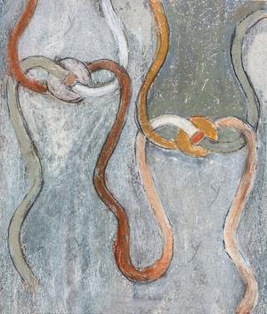Kvantfysiken hade stor betydelse för Berit Petterssons konst och i verket