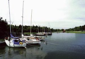Segelbåtar vid Fifång.