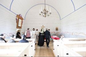 In i det sista övades rollspelet in i Jamtlis kyrka innan publiken fick ta del av evenemanget.