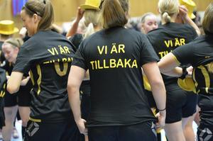 KBK åkte ur Allsvenskan förra våren. Nu är laget tillbaka.