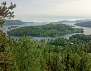 Utsikten mot Gaviksfjärden är mycket vacker. Foto: Erik Åmell