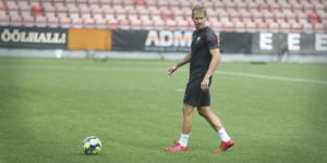 Daniel Björnquist är tillbaka från frakturen i skenbenet.