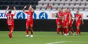 Kif Örebro vid ett tidigare tillfälle. På lördagen fick de nya anledningar att jubla.