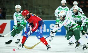 Camilla Johansson tog sitt fjärde SM-guld med Kareby förra året. Foto: Sören Andersson / TT