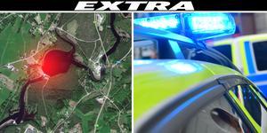 Kroppen hittades nära dammluckorna vid Unnåns kraftstation, uppger polisen. Foto: Google, Stina Stjernkvist/TT
