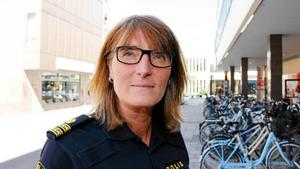 Agneta Massaro, chef på polisens bedrägerigrupp i Västerås.