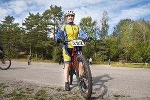 Sandra Svensk satsade inte på en vinst, men vann i sin klass ändå.