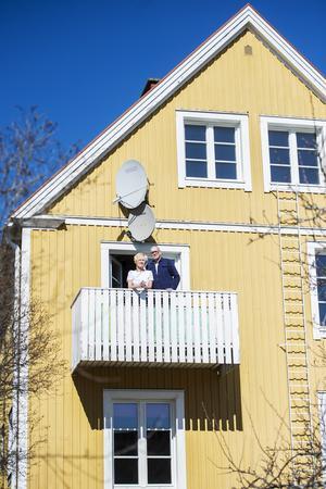 Eva och Martin Lindberg har varit ett par i drygt 40 år. Lika länge har de bott tillsammans i villan på Haga.