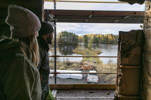 Utsikten är viktig att ta till vara när de planerar hur rummen i huset ska användas.