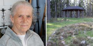 Sylvia Hvistendahl Manners ordförande i stiftelsen Arholma minneslund.