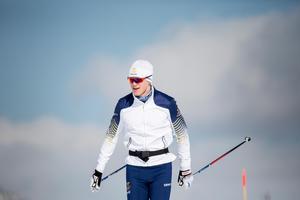 Oskar Svensson under OS-lägret i Sapporo. Foto: Christine Olsson/TT