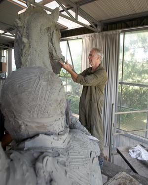 Richard Brixel under arbete. Foto: Per Johansson, Procard