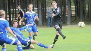 Kristian Ekberg gjorde ett av målen i matchen mot Rengsjö förra helgen.