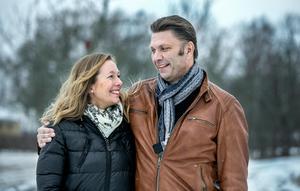 Kristina Nicklasson och Peter Sahlin.
