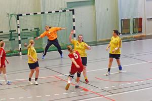 Seriespelet fortsätter för damerna. Foto: Solveig S Thörnblom/arkiv