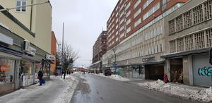 Köpmangatan i Södertälje.