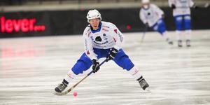 Robin Lundqvist kommer inte träna på is på torsdagen, men någon exakt prognos om knäskadan finns inte i nuläget.