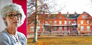 Skolchefen Inger Norman vill stänga högstadiet i Österfärnebo på grund av för få behöriga lärare. Bild: Arkiv