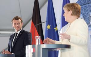 Förbundskansler Angela Merkel och president  Emmanuel Macron har tillsammans konstruerat en