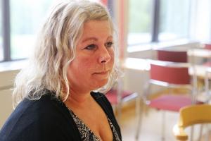 Nina Pettersson är bekymrad över det som sker vid Sollefteå sjukhus och inte minst besviken på de styrande i landstinget Västernorrland.