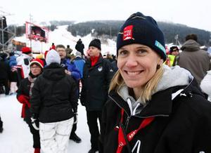 – Det var ju perfekt att Hans Olsson tog en pallplats direkt i första tävlingen. Jag tror att det betyder mycket inför helgens tävlingar, säger Anna Bodén.